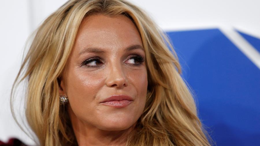 Cantora Britney Spears chega ao MTV Video Music Awards em Nova York, em 2016 - Eduardo Munoz