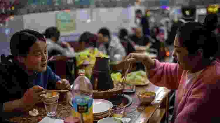 Na capital chinesa, as máscaras não são mais obrigatórias - Getty Images - Getty Images