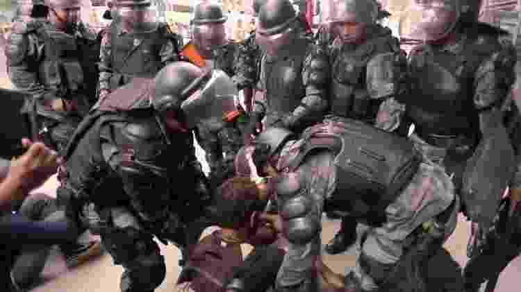 monteiro - Reprodução/Filme Urutau: Resistência Marakanã - Reprodução/Filme Urutau: Resistência Marakanã