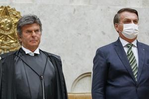Para tentar fazer as pazes, Bolsonaro se encontrará com Fux, Lira e Pacheco  (Foto: Felipe Sampaio/STF)