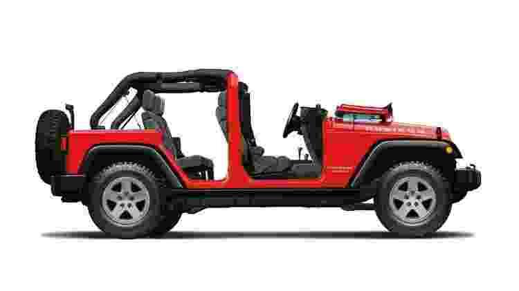 Jeep Wrangler JK - Divulgação  - Divulgação