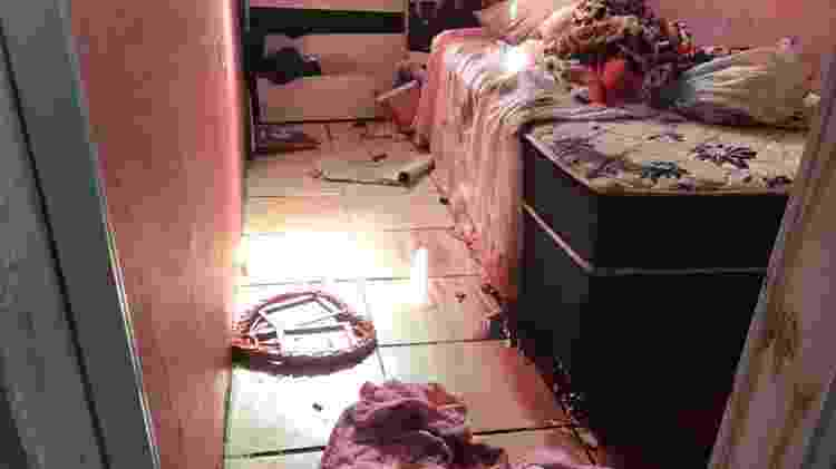 6.mai.2021 - Quarto de criança em que rapaz foi morto por policiais no Jacarezinho - Joel Luiz Costa/Reprodução - Joel Luiz Costa/Reprodução
