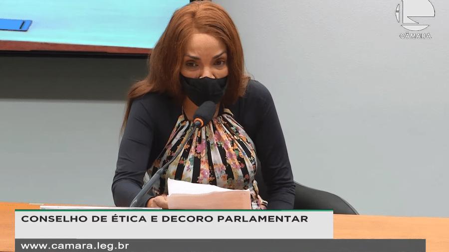 Flordelis se defende no Conselho de Ética da Câmara - Reprodução/TVCâmara
