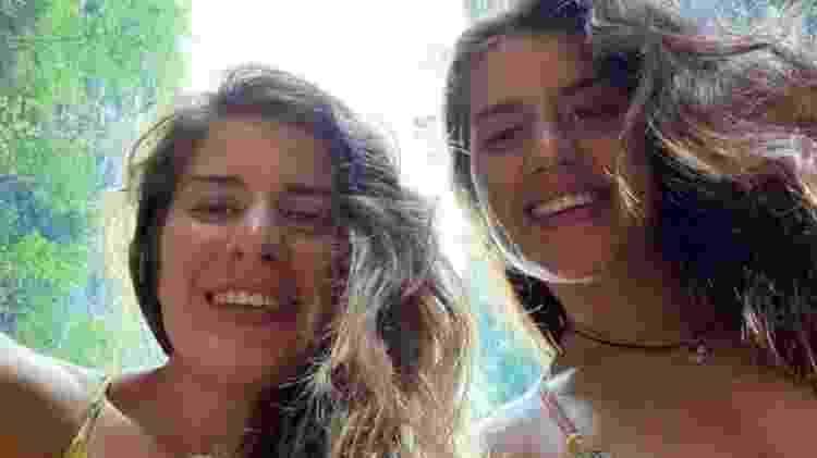 As duas irmãs ficaram feridas no ataque - em Melissa, os ferimentos representaram risco de morte - Georgia Laurie - Georgia Laurie
