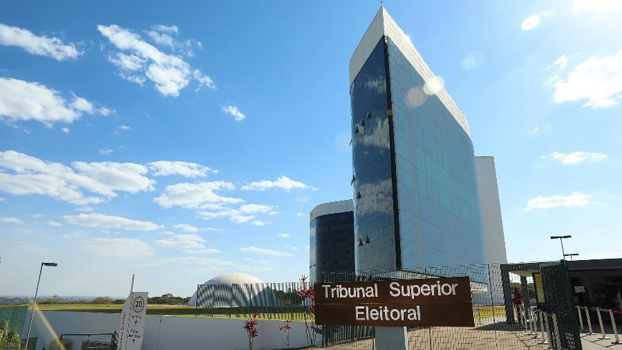 12.ago.2021 - Prédio do TSE (Tribunal Superior Eleitoral), em Brasília - Antonio Augusto/Secom/TSE