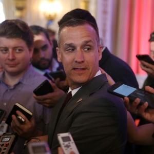 Corey Lewandowski, chefe de campanha de Donald Trump, em foto de arquivo - Joe Raedle/AFP
