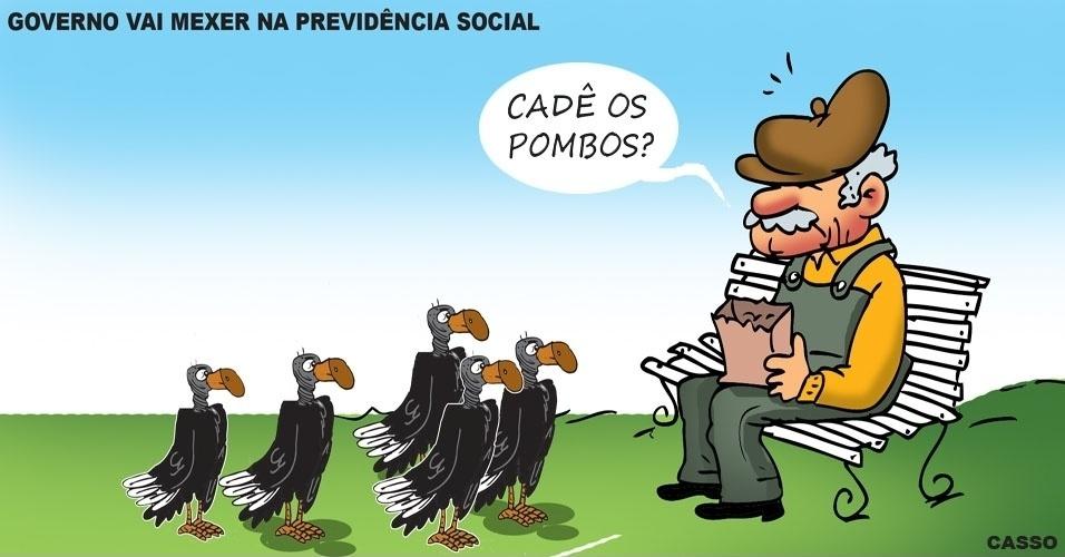 30.mai.2016 - Mudanças na Previdência Social defendidas pelo governo preocupam a população