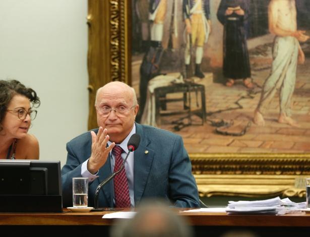 13.jul.2016 - Osmar Serraglio (PMDB-PR) na CCJ (Comissão de Constituição e Justiça e de Cidadania)