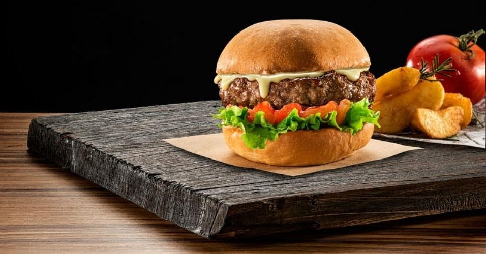 Hambúrguer Daddy Rock'n'Roll, da Jamp Burger