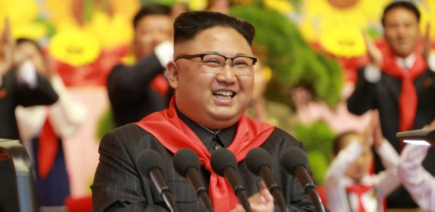 Kim Jong-un prefere sair ao amanhecer por causa do temor de ser assassinado - KCNA via Reuters