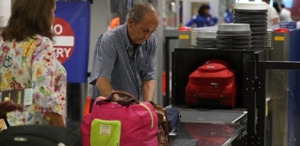 As novas medidas de segurança serão aplicadas para evitar ameaças em cerca de 2.100 voos diários ao EUA  - Getty Images