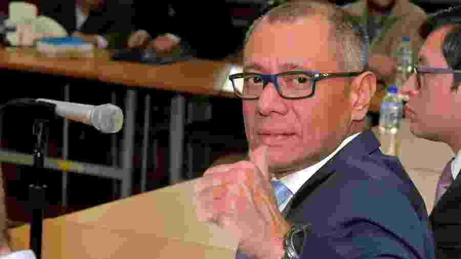 Jorge Glas, ex-vice-presidente do Equador - RODRIGO BUENDIA/AFP