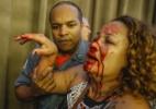 Protesto de professores contra Previdência tem tumulto e bombas em SP - Suamy Beydouni/Estadão Conteúdo