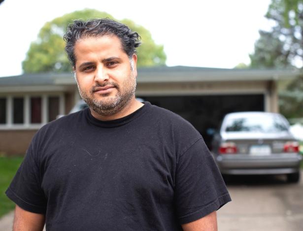 Uday Verma, um desenvolvedor de software da Índia, em Iowa City, Iowa - Kathryn Gamble/The New York Times