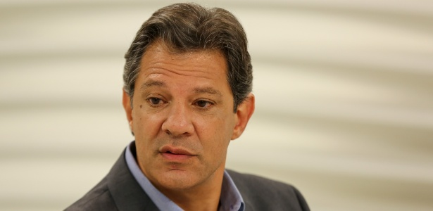 "22.out.2018 - Fernando Haddad (PT) participa do ""Roda Viva"", da TV Cultura"