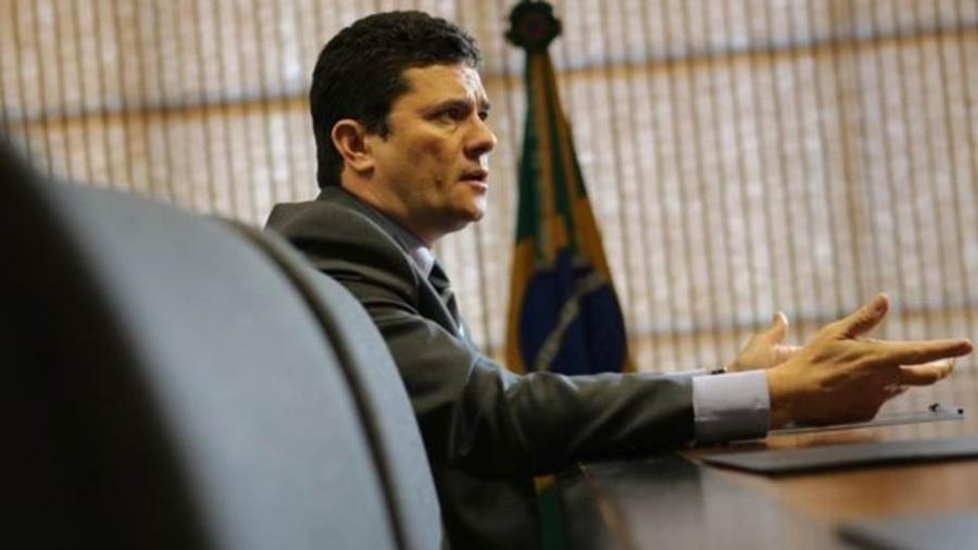O ministro da Justiça e Segurança Pública Sergio Moro - REUTERS/ANDRE COELHO