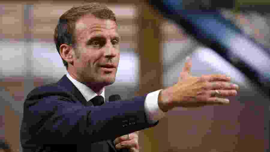 10.set.2019 - O presidente da França, Emmanuel Macron - Ludovic Marin - 10.set.2019/AFP