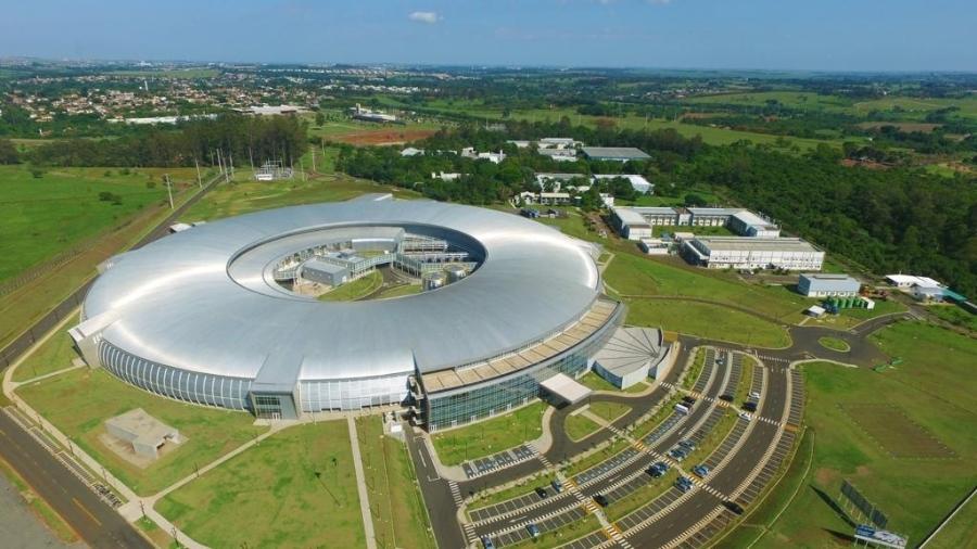 Sirius, acelerador de partículas brasileiro localizado em Campinas (SP) - Divulgação/CNPEM