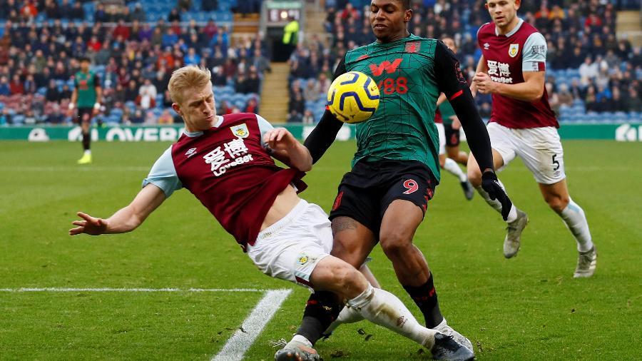 Burnely x Aston Villa da Premier League - JASON CAIRNDUFF