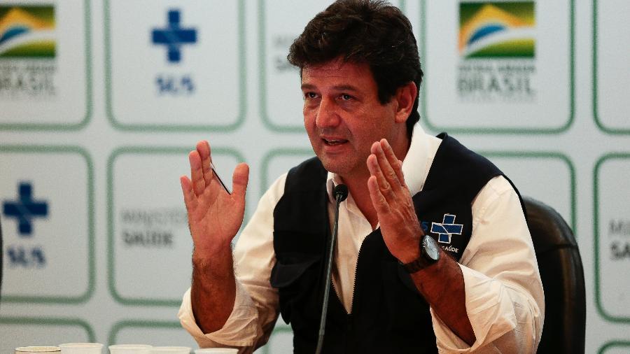 O ex-ministro da Saúde, Luiz Henrique Mandetta - Marcello Casal Jr./Agência Brasil
