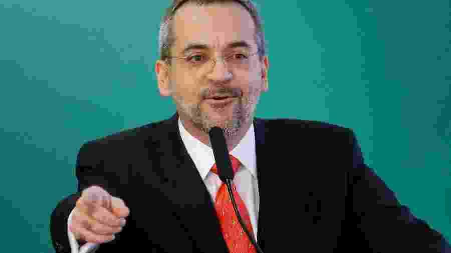 Ministro da Educação, Abraham Weintraub, no Palácio do Planalto - Reprodução