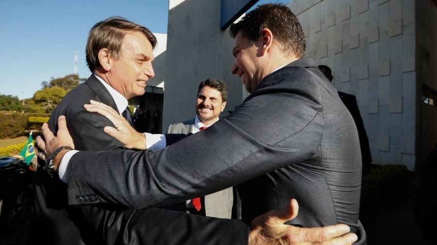 Presidente Bolsonaro nomeou Alexandre Ramagem, ex-chefe da Abin, para o comando da PF - CAROLINA ANTUNES/PR via BBC