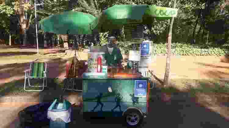 Vendedor de cocos Gilberto Santos - Wanderley Preite Sobrinho/UOL - Wanderley Preite Sobrinho/UOL