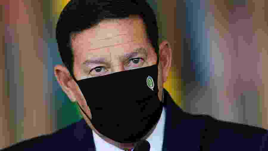 Vice-presidente, Hamilton Mourão, critica sistema que monitora desmatamento no Brasil  -