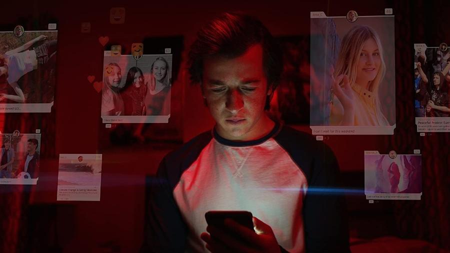 Skyler Gisondo em cena de O Dilema das Redes (2020) - Divulgação
