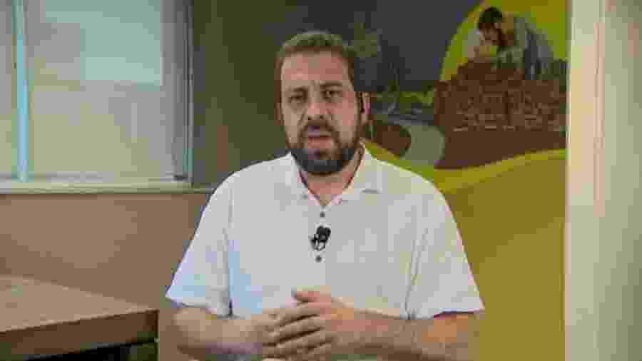 Guilherme Boulos participa de entrevista ao SBT - Reprodução/SBT