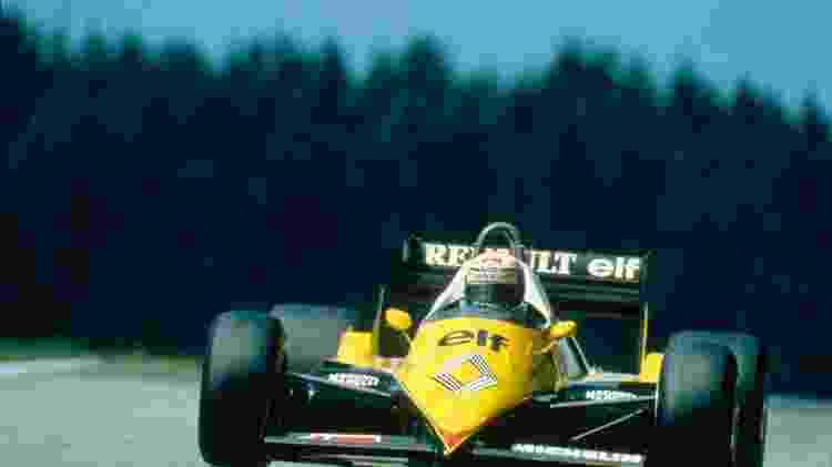 Renault F1 AP 1983 - Divulgação  - Divulgação