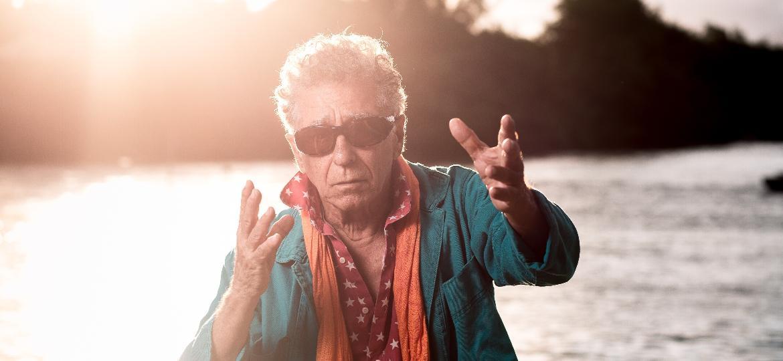 """O cineasta Neville D""""Almeida estudou teatro também: """"Sou ator, mas para suportar esses diretores medíocres, aí não quero."""" - Lucas Seixas/UOL"""