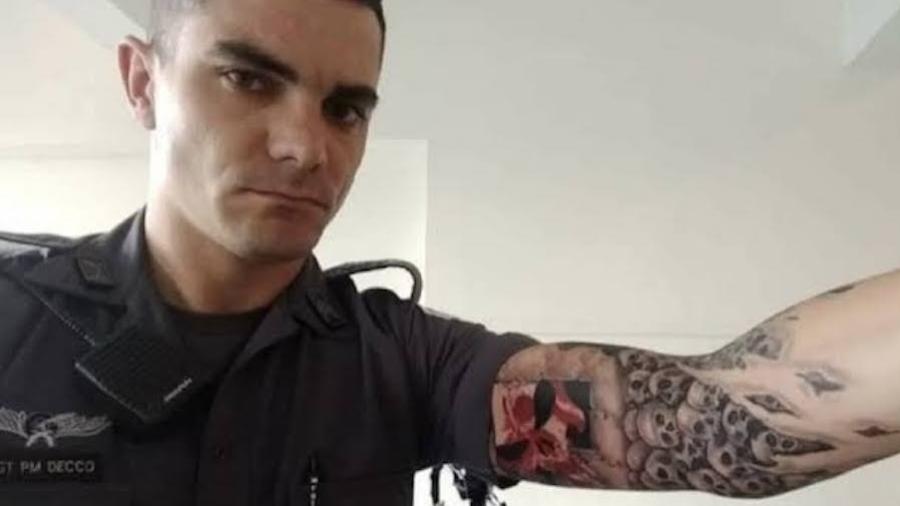 Ernest Decco Granaro, sargento da Polícia Militar de São Paulo acusado de matar Wellington Copido Benfati - Reprodução