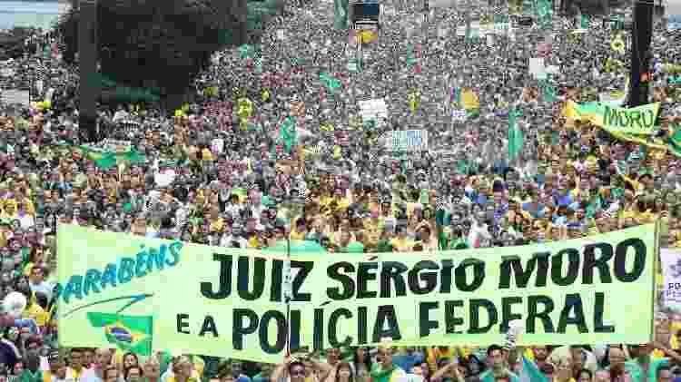 manifestação na paulista em 13 de março de 2016 - Paulo Guereta/Brazil Photo Press/Folhapress - Paulo Guereta/Brazil Photo Press/Folhapress