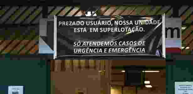 18.jun.2015 - O Hospital São Paulo, na Vila Mariana, zona sul de São Paulo, suspendeu temporariamente, nesta quinta-feira (18), as internações que não forem de emergência - Renato S. Cerqueira/Futura Press/Estadão Conteúdo