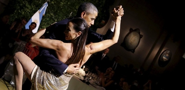 Barack Obama dança tango durante jantar em Buenos Aires - Carlos Barria/Reuters