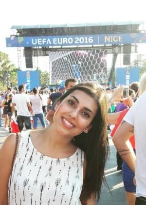 Melissa Panteliou estava na orla de Nice com amigas quando viu o caminhão
