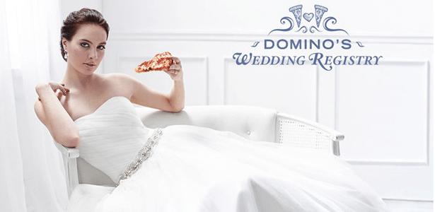 Pizzaria lança serviço de lista de casamento que só tem uma opção de presente