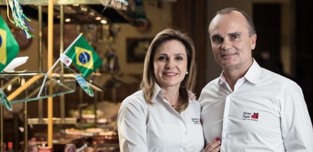 Divino Fogão empresários Reinaldo Varela e Nani
