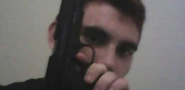 Nikolas Cruz era conhecido por sua obsessão por armas - Reprodução/Instagram
