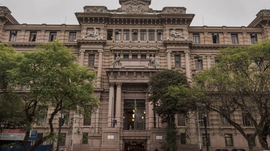 Prédio do TJ-SP (Tribunal da Justiça de São Paulo), na praça da Sé, em São Paulo - Avener Prado/Folhapress