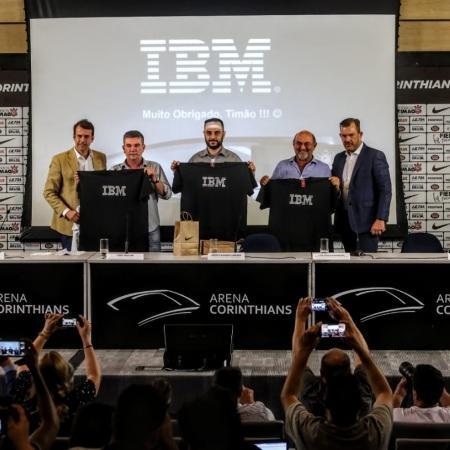 IBM e Corinthians anunciaram parceria em 2018 - Divulgação