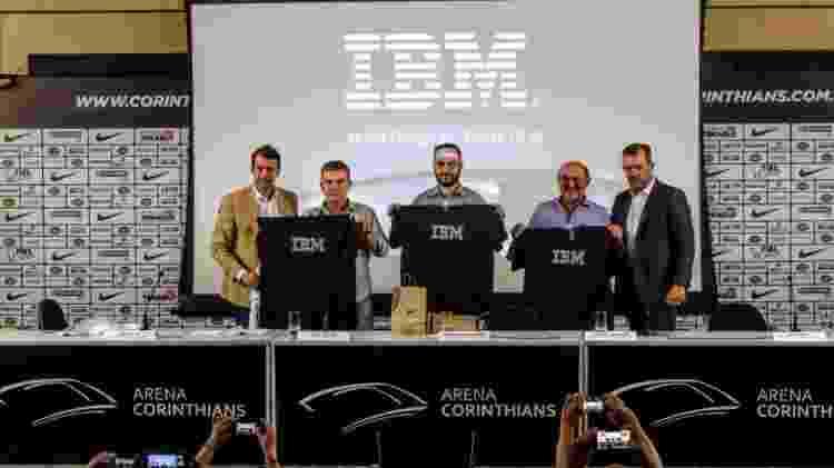 IBM e Corinthians anunciam parceria para modernização do estádio - Divulgação