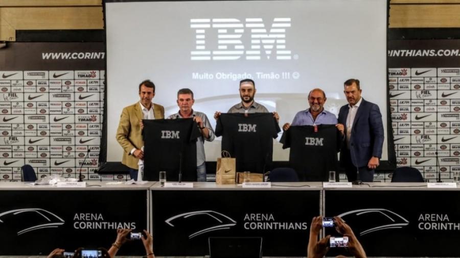 21.dez.2018 - IBM e Corinthians anunciam parceria para modernização da hoje Neo Química Arena  - Divulgação