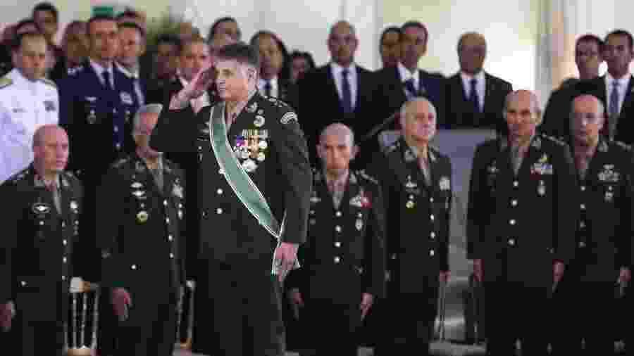 11.jan.2018 - O general Edson Leal Pujol, comandante do Exército - Valter Campanato/Agência Brasil