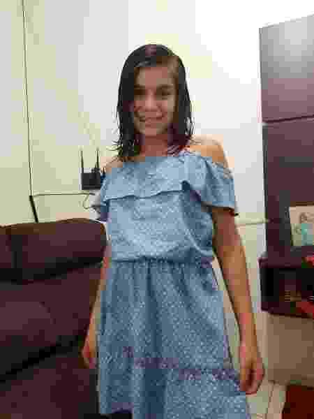 23.jun.2019 - Ieda Giovana Rodrigues, de 11 anos, morreu após acidente de carro enquanto era socorrida por ter sido picada por uma cobra - Reprodução/Facebook