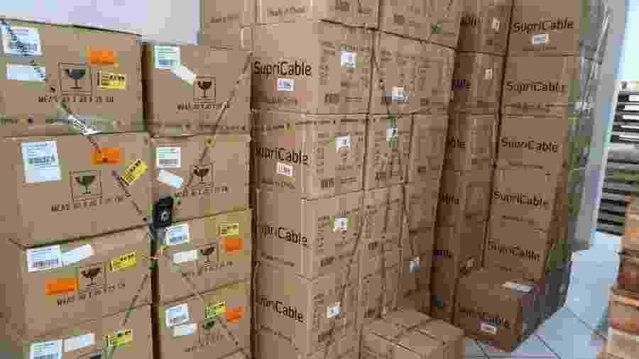 Anatel faz operação para combater pirataria de produtos de telecomunicações - Divulgação/Anatel