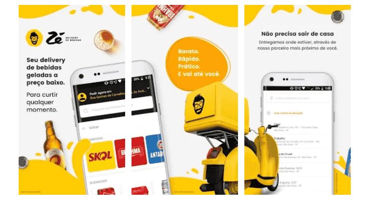 Zé Delivery: Apps para ajudar no rolê com os amigos - Reprodução - Reprodução