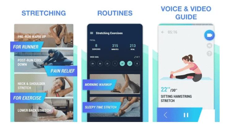 Stretching Exercises - Veja apps que ajudam na rotina de exercícios - Reprodução - Reprodução
