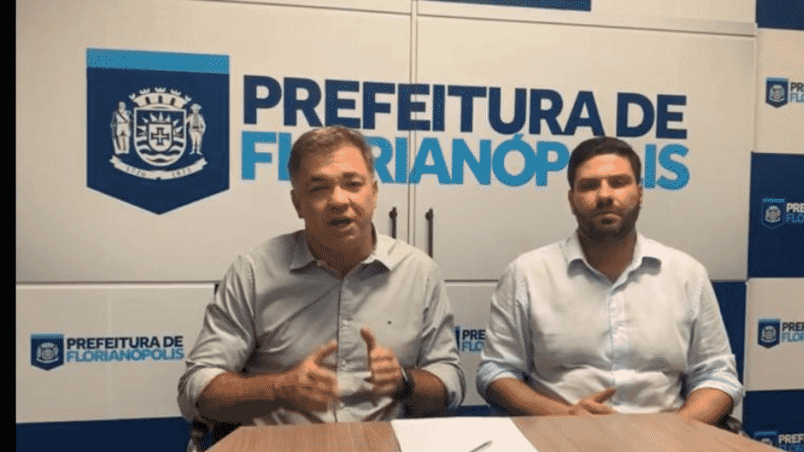 O prefeito de Florianópolis, Gean Loureiro (DEM-SC), é candidato à reeleição - Bruno Oliveira/Divulgação